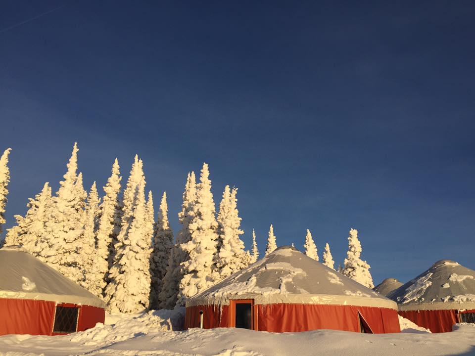 Yurts at Whisper Ridge