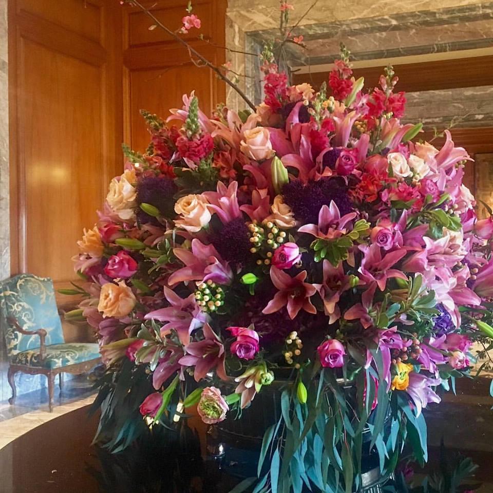 Grand America Hotel flowers