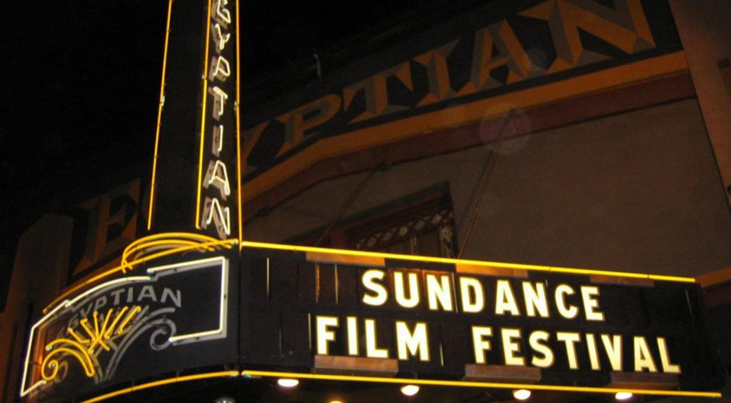Egyptian Marquee during Sundance