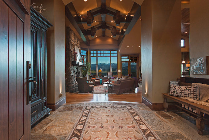 Bitner Ranch foyer