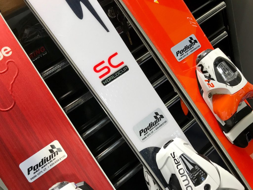Podium skis
