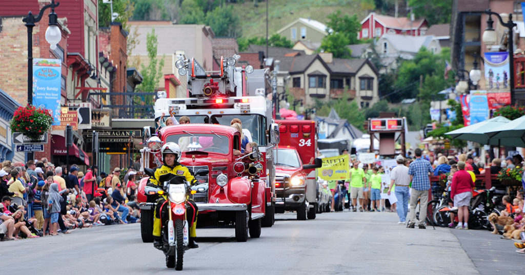 Park City Miners Day Parade