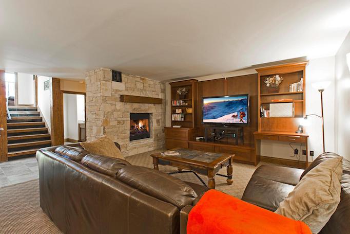 Park West condo living room