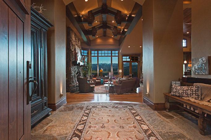 Bitner Ranch foyer