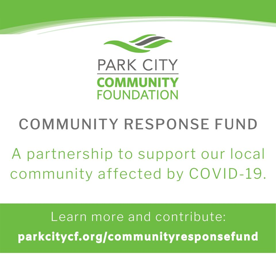 park city community response fund for covid-19 and coronavirus