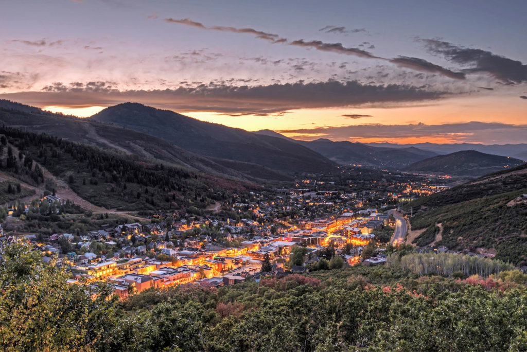 Park City Old Town Sunset