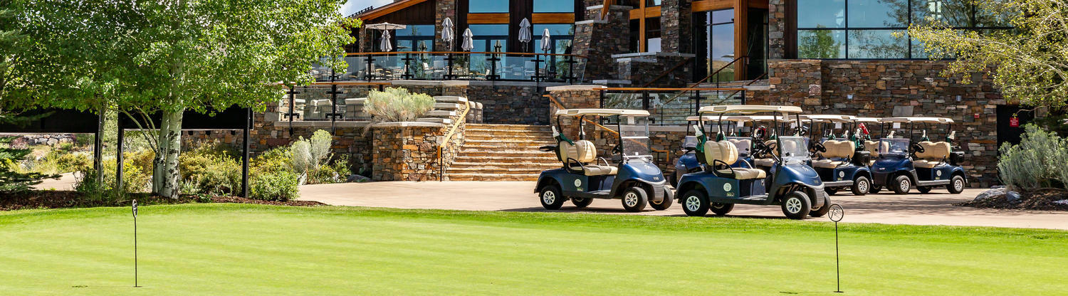Promontory Golf Community in Park City Utah