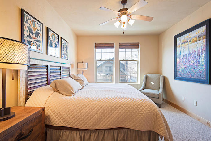 Redstone Real estate condo bedroom