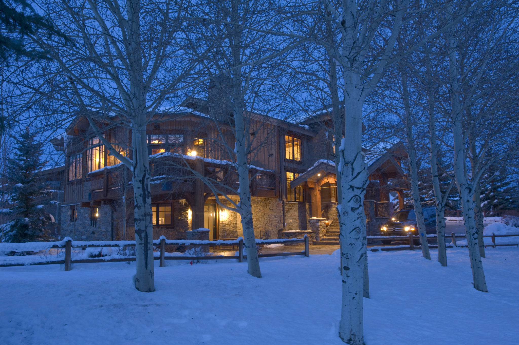 Luxury home at The Colony Park City in White Pine Canyon